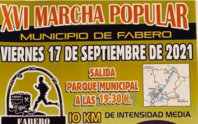 XVI Marcha Popular Municipio de Fabero